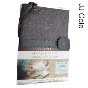 JJ Cole Portable Diaper Changing Clutch